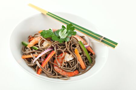 soba: Cold Soba Buckwheat Noodle Salad, Popular Korean Dish