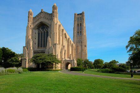 Rockefeller Memorial Chapel Stok Fotoğraf