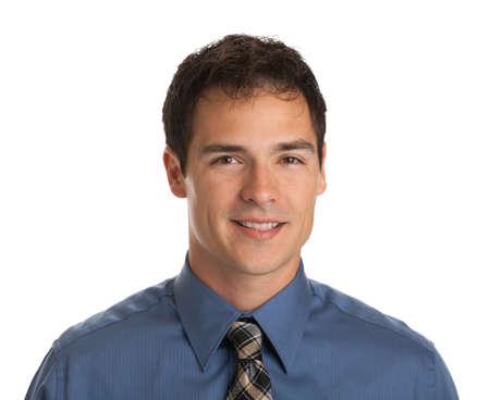 junge nackte frau: Junger Geschäftsmann Gesichtsausdruck Lächeln auf weißen Hintergrund isolieren