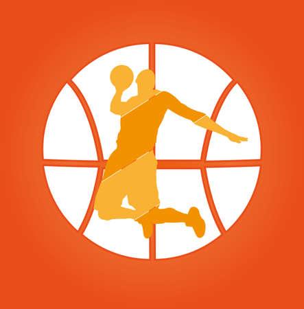basket: Basket logo Vettoriali