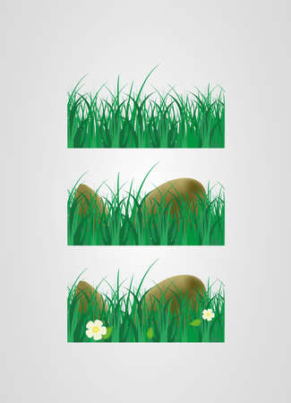 Many Grass 3 Stock Vector - 14224671