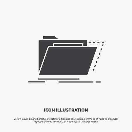 Balanced, management, measure, scorecard, strategy Glyph Icon in Carousal Pagination Slider Design & Red Download Button
