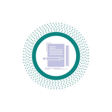 Code, coding, file, programming, script Glyph Icon. Vector isolated illustration