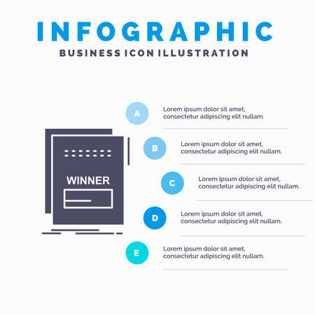 fraud, link, maleficient, malicious, script Infographics Template for Website and Presentation. GLyph Gray icon with Blue infographic style vector illustration.