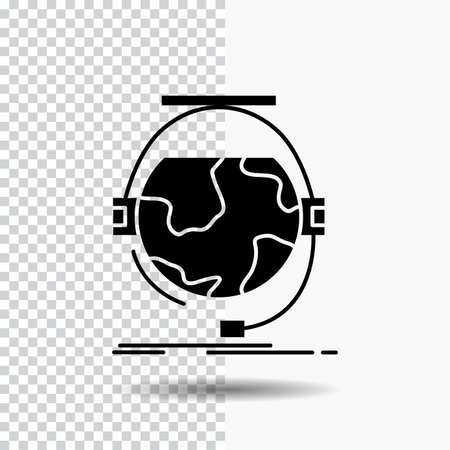 consultation, education, online, e learning, support Glyph Icon on Transparent Background. Black Icon