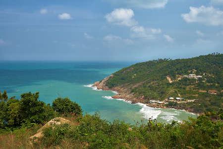 Beautiful tropical landscape in Koh Phangan Thailand