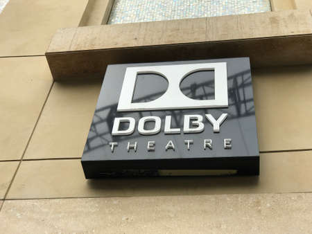 nominations: LOS ANGELES - FEB 21: Oscar preparations at the Dolby Theater, 2017 in Hollywood, Los Angeles, California.