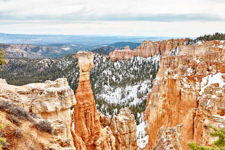 Incredibly beautiful landscape in Bryce Canyon National Park, Utah, USA