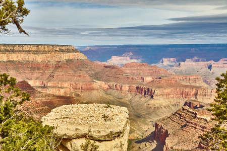 morning light sunrise at Grand Canyon, Arizona USA