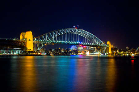 habour: Australia, Sydney , habourt bridge, landmark,  Editorial