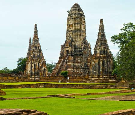 ayuthaya: Ancient temple in Ayuthaya Thailand