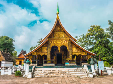 Wat Xieng Tong, Lpangprabang Laos photo