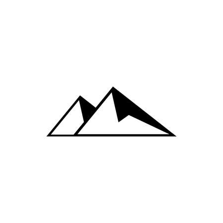 mountains icon. One of set web icons