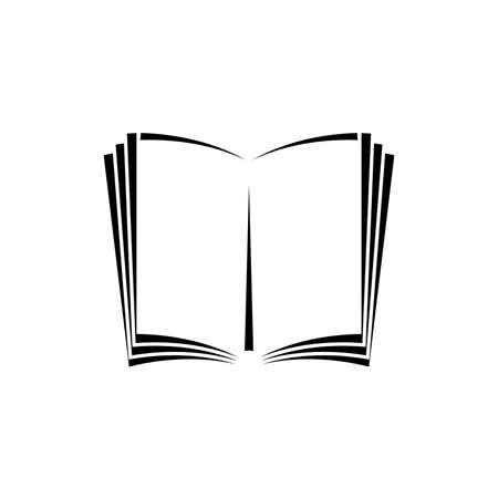 open book icon. One of set web icons