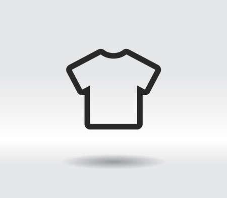 Tshirt Icon icon, vector illustration. Flat design style 일러스트