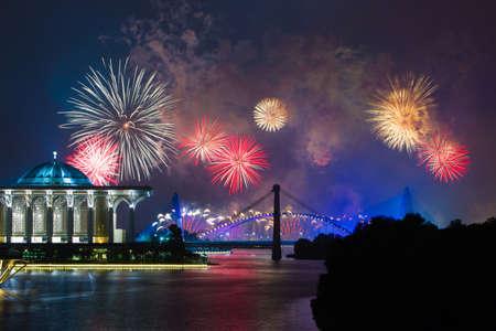 Putrajaya International Fireworks Competition 2013 Reklamní fotografie