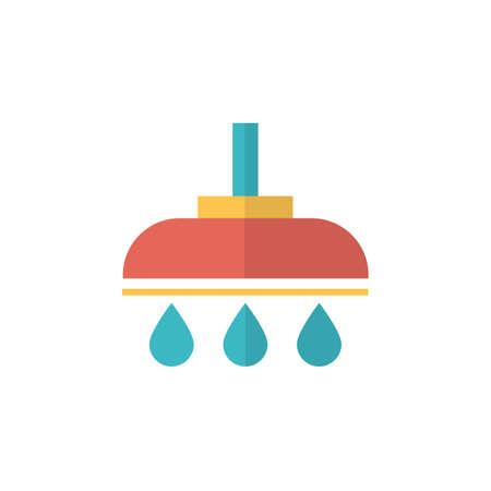 shower icon vector flat design Vectores