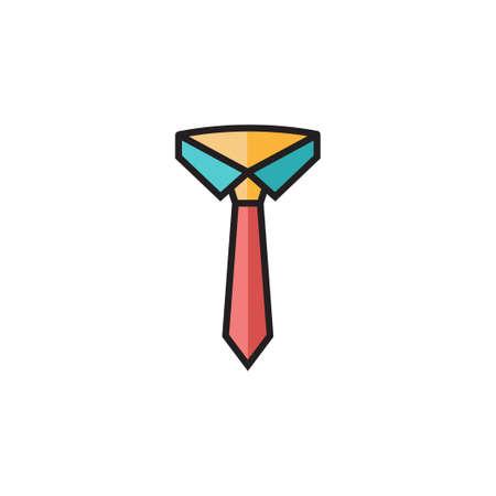 dress code icon vector filled outline design