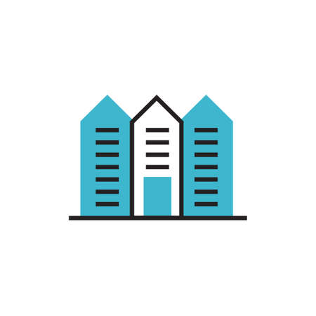 apartement icon vector illustration modern design