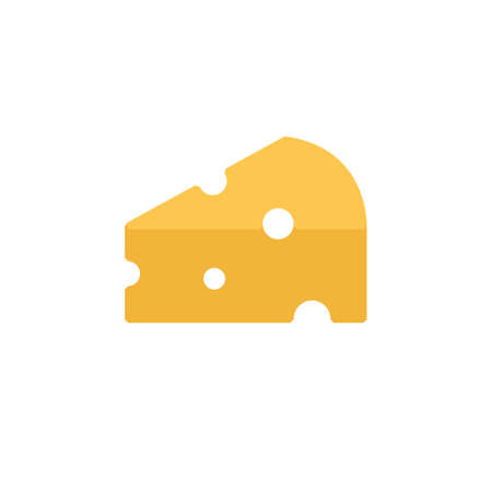 cheese icon vector illustration flat design