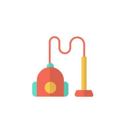 vacum cleaner icon vector illustration flat design