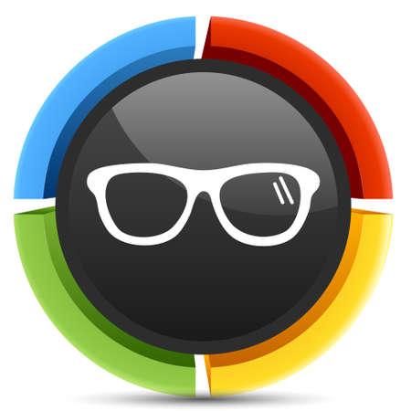 eyeglasses: eyeglasses icon