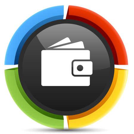 wallet: wallet icon