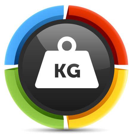 ton: kg ağırlık simgesi Çizim