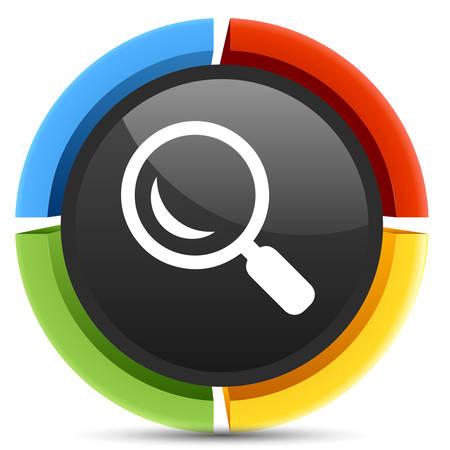 search icon: pictogram zoeken