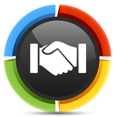 Overeenkomst pictogram