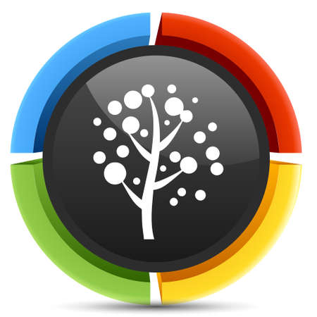 botanika: Botanika ikona les