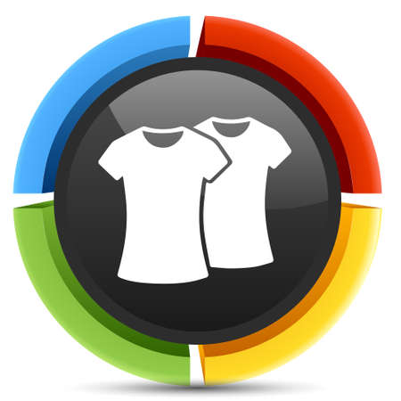 tee: tee shirt icon