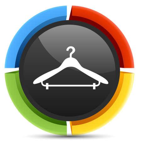 coat hanger: coat hanger icon