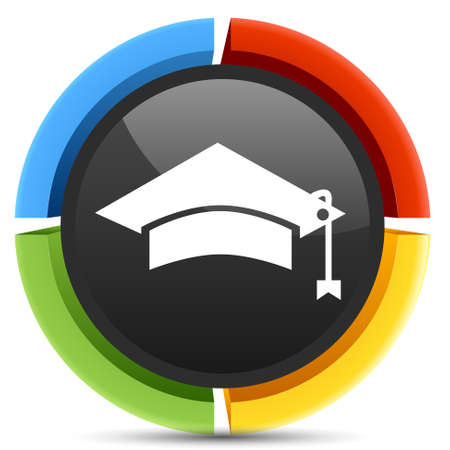 graduation hat: graduation hat icon