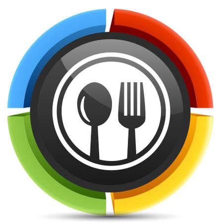 cutlery: cutlery set Illustration