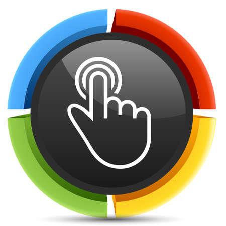 cursor: cursor button