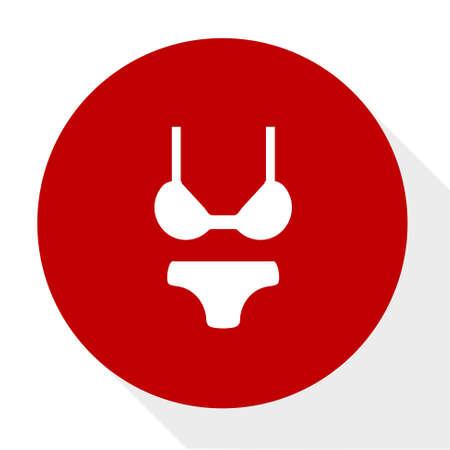 Bikini knop