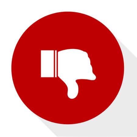 Dislike icon.