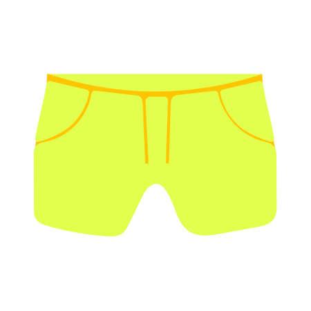vector men underwear illustration, underpants fashion isolated