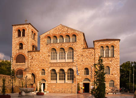 The Church of Saint Demetrius, the patron saint of Thessaloniki, Greece