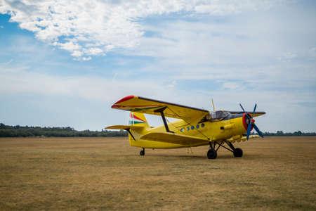 Antonov 2 before takeoff