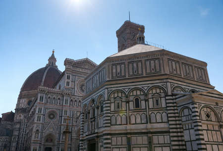 Cattedrale di Santa Maria del Fiore (Cathedral of Saint Mary of the Flower) is the main church of Florence,Tuscany, Italy. The basilica is one of Italy's largest churches, UNESCO World Heritage Site