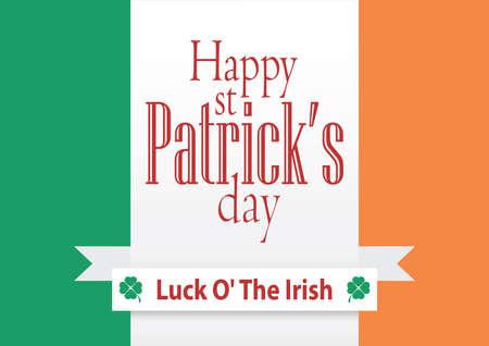 seventeenth: St. Patricks Day poster, background, vector Illustration