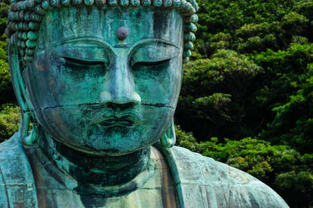 The great Buddha Dai Butsu. The second biggest buddha in Japan.