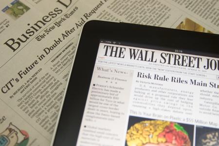 Apple Ipad 3g WiFi Wall Street Journal