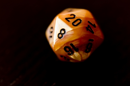 roleplaying: D20 dice for roleplaying game