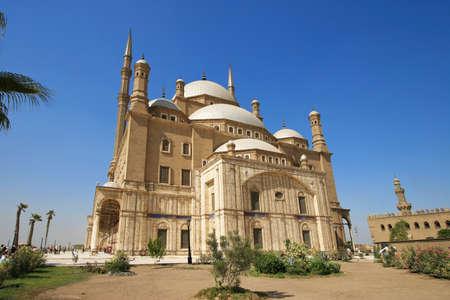 ali: Muhammad Ali Basha Mosquean, salah el din citadel of Cairo, Egypt Stock Photo