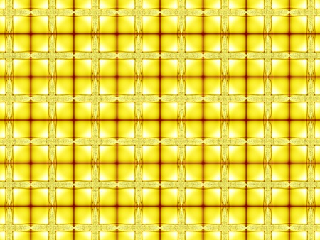Yellow pattern fractal - wallpaper