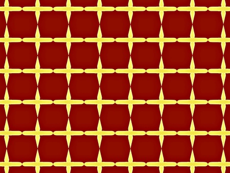 grating: Red checkered fractal - wallpaper Stock Photo