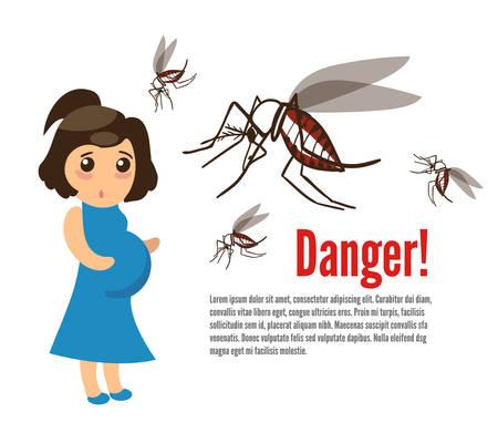 妊娠中の女性は、蚊に襲われます。ジカ熱は、ネッタイシマカに噛まれる妊娠中の女性から小頭症先天性欠損の場合にリンクされます。
